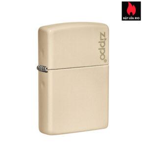 Zippo 49453ZL - Zippo Flat Sand Zippo Logo