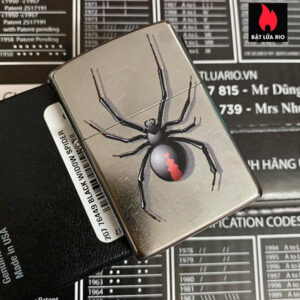 Zippo 207 Black Widow Spider