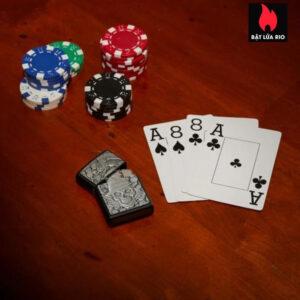 Zippo 49183 -Zippo Gambling Skull Black Matte 1