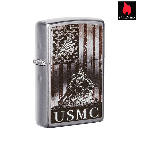 Zippo 49316 - Zippo U.S. Marine Corps. Street Chrome™