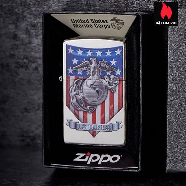 Zippo 49317 – Zippo U.S. Marine Corps. Street Chrome 4