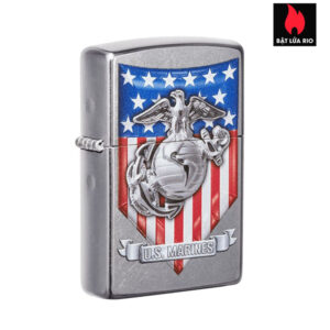 Zippo 49317 - Zippo U.S. Marine Corps. Street Chrome™