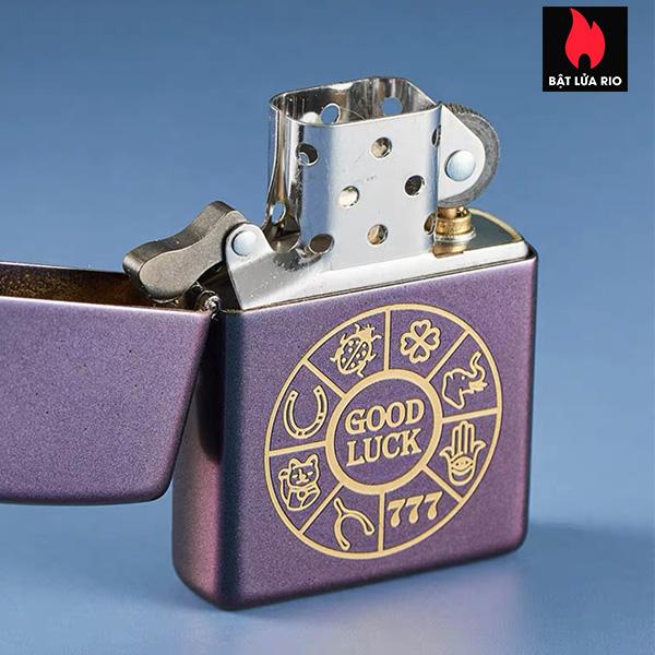Zippo 49399 – Zippo Lucky Symbols Design Iridescent 6