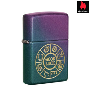 Zippo 49399 - Zippo Lucky Symbols Design Iridescent