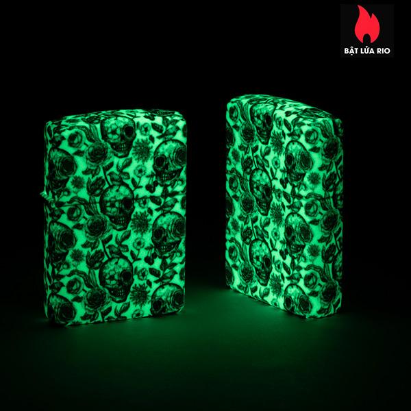 Zippo 49458 - Zippo Skeleton Design Glow-In-The-Dark 540 Color 5