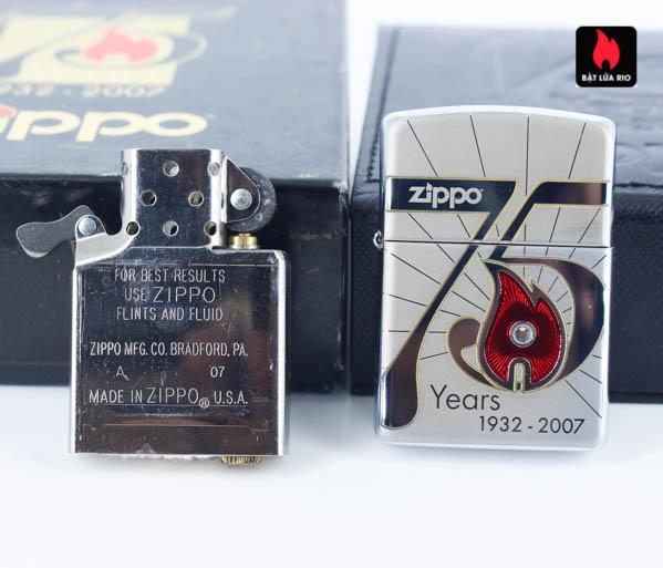 Zippo 2007 – 75th Anniversary Edition – Austria – Limited AUT 1 Of 250 6