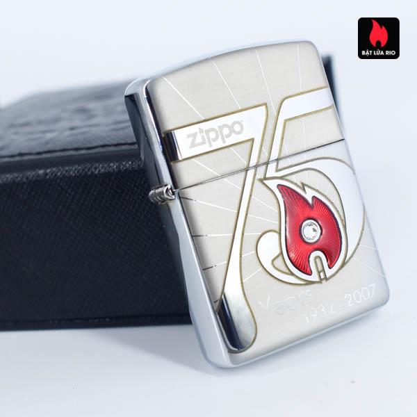 Zippo 2007 – 75th Anniversary Edition – Austria – Limited AUT 1 Of 250