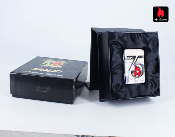 Zippo 2007 – 75th Anniversary Edition – Benelux – Limited BENELUX 1 Of 250 1