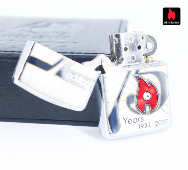 Zippo 2007 – 75th Anniversary Edition – Benelux – Limited BENELUX 1 Of 250 8