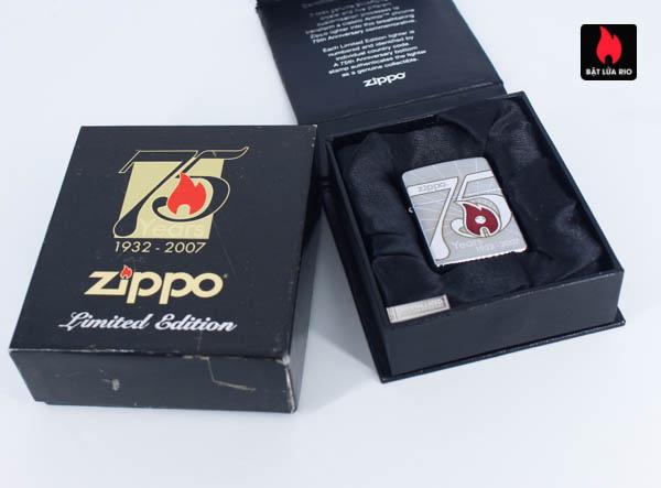 Zippo 2007 – 75th Anniversary Edition – Croatia – Limited CRO 1 Of 100 2