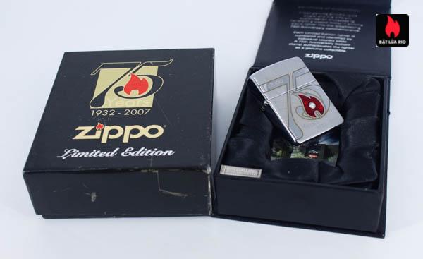 Zippo 2007 – 75th Anniversary Edition – Croatia – Limited CRO 1 Of 100 3