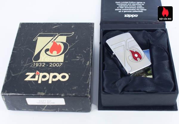 Zippo 2007 – 75th Anniversary Edition – Hungary – Limited HUN 1 Of 100 2