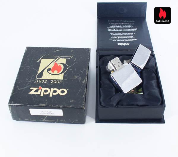 Zippo 2007 – 75th Anniversary Edition – Hungary – Limited HUN 1 Of 100 4