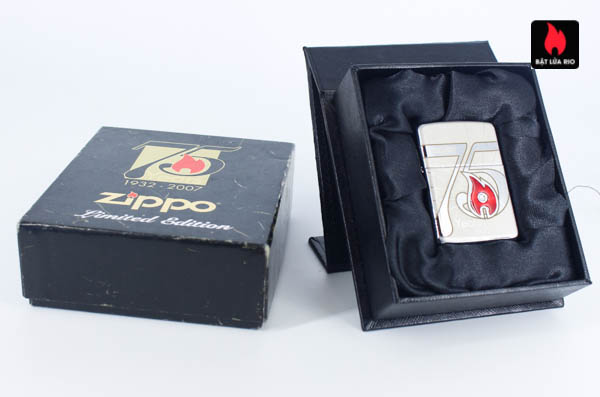Zippo 2007 – 75th Anniversary Edition – Israel – Limited ISR 1 Of 300 1