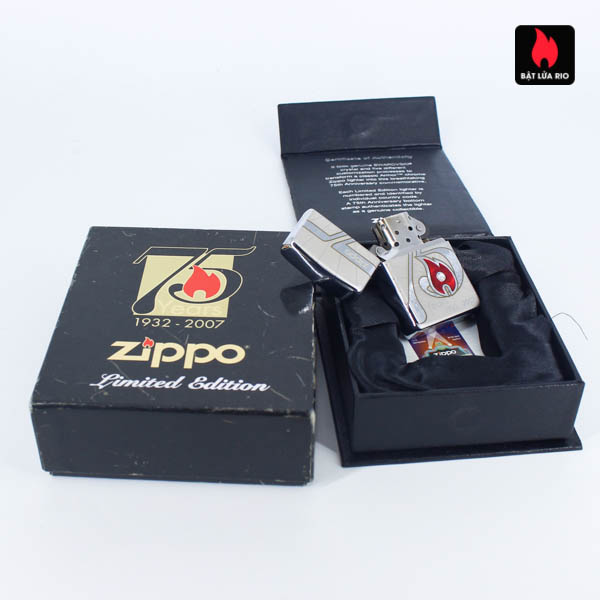 Zippo 2007 – 75th Anniversary Edition – Israel – Limited ISR 1 Of 300 3