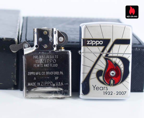 Zippo 2007 – 75th Anniversary Edition – Israel – Limited ISR 1 Of 300 9