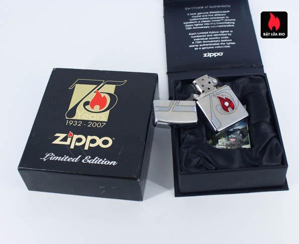 Zippo 2007 – 75th Anniversary Edition – Malta – Limited MLT 1 Of 100 2