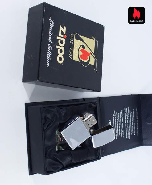 Zippo 2007 – 75th Anniversary Edition – Malta – Limited MLT 1 Of 100 3