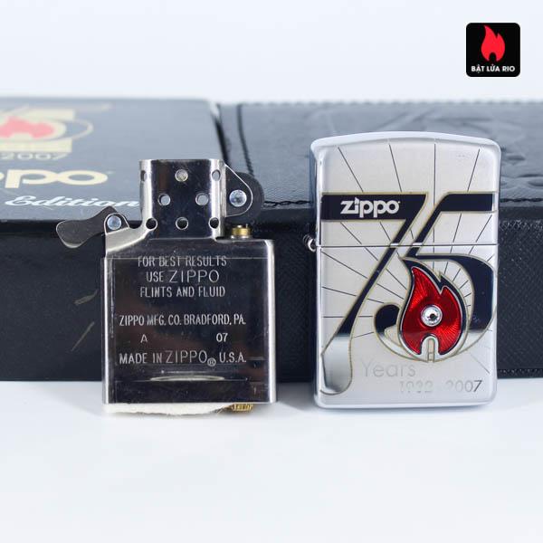 Zippo 2007 – 75th Anniversary Edition – Malta – Limited MLT 1 Of 100 7