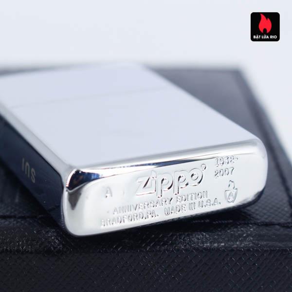 Zippo 2007 – 75th Anniversary Edition – Switzerland – Limited SUI 1 Of 333 2