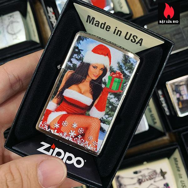 Zippo 200 Chirstmas Girl
