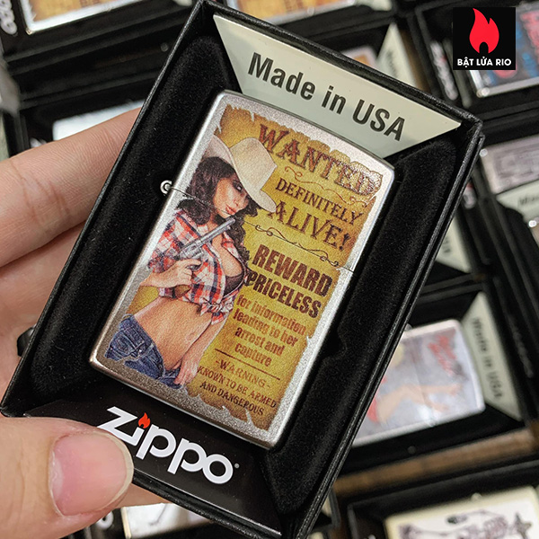 Zippo 205 Wanted Country Girl #2