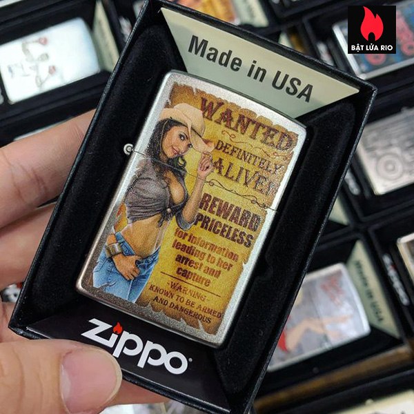 Zippo 205 Wanted Country Girl