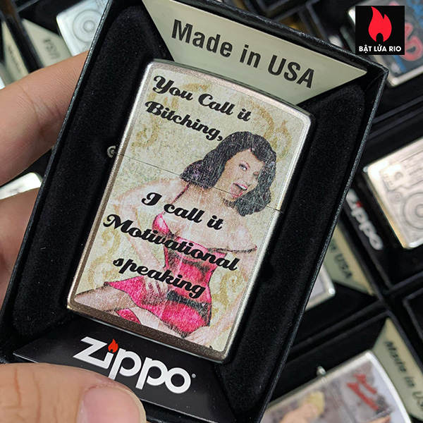 Zippo 205 You Call It