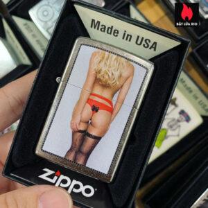 Zippo 207 Black Bow