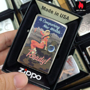 Zippo 207 Conquering New Worlds