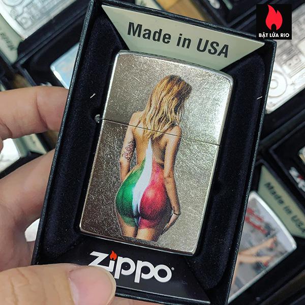 Zippo 207 Italy Color Girl
