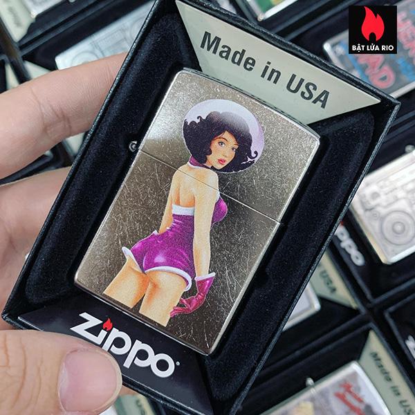 Zippo 207 Space Girl