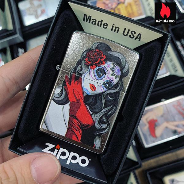 Zippo 207 Sugar Skull