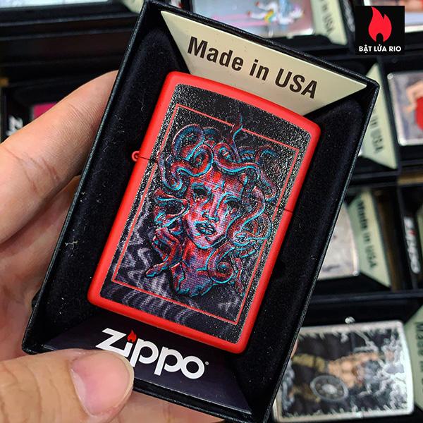 Zippo 233 Medusa Design