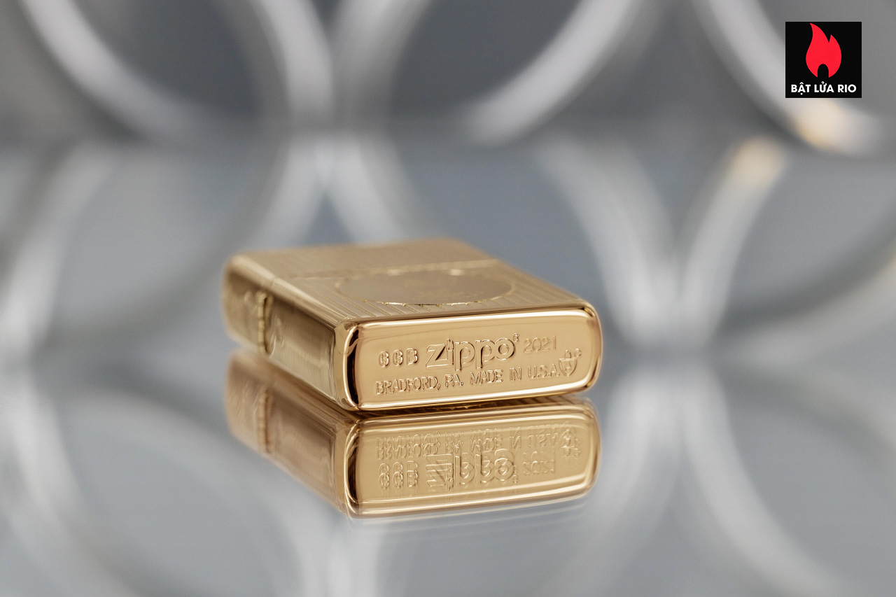 Zippo 49631 - Zippo Founder's Day 2021 Gold Plated Edition Collectible 11
