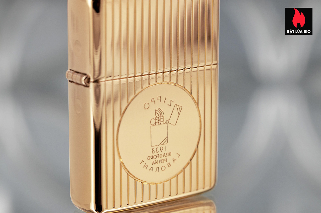 Zippo 49631 - Zippo Founder's Day 2021 Gold Plated Edition Collectible 5