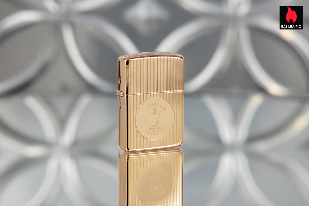Zippo 49631 - Zippo Founder's Day 2021 Gold Plated Edition Collectible 8