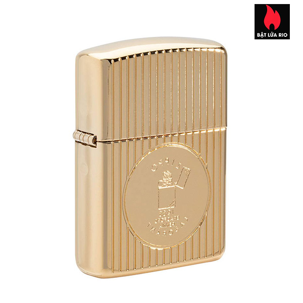 Zippo 49631 - Zippo Founder's Day 2021 Gold Plated Edition Collectible