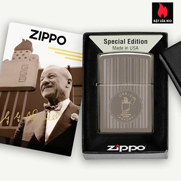 Zippo 49629 - Zippo Founder's Day 2021 Black Ice 5