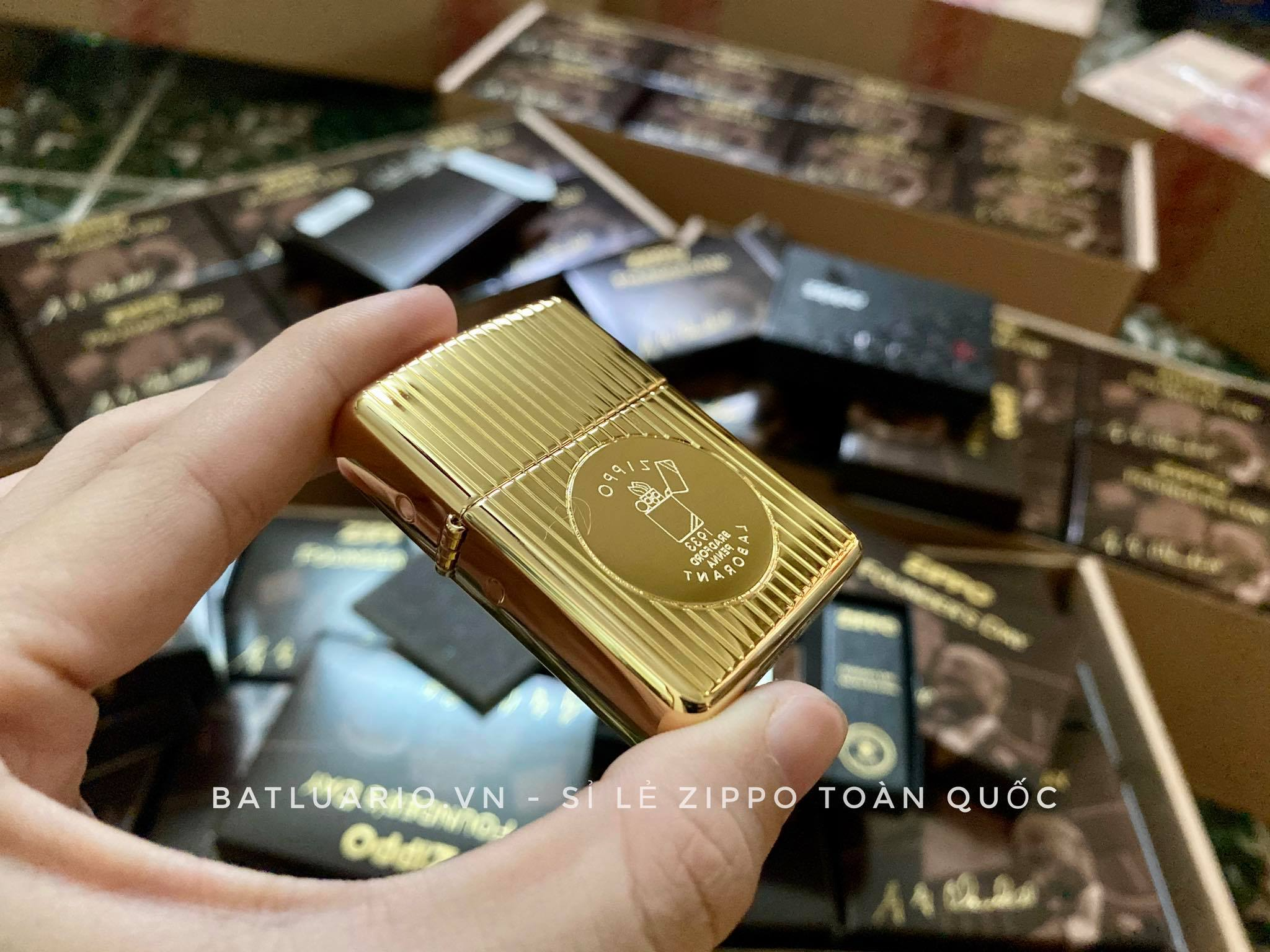 Zippo 49631 - Zippo Founder's Day 2021 Gold Plated Edition Collectible 35