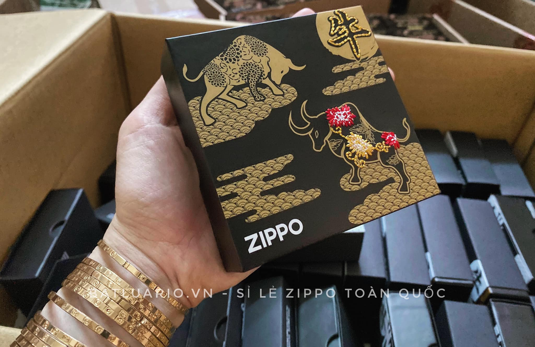 Zippo Year Of The Ox Asia Limited Edition 16