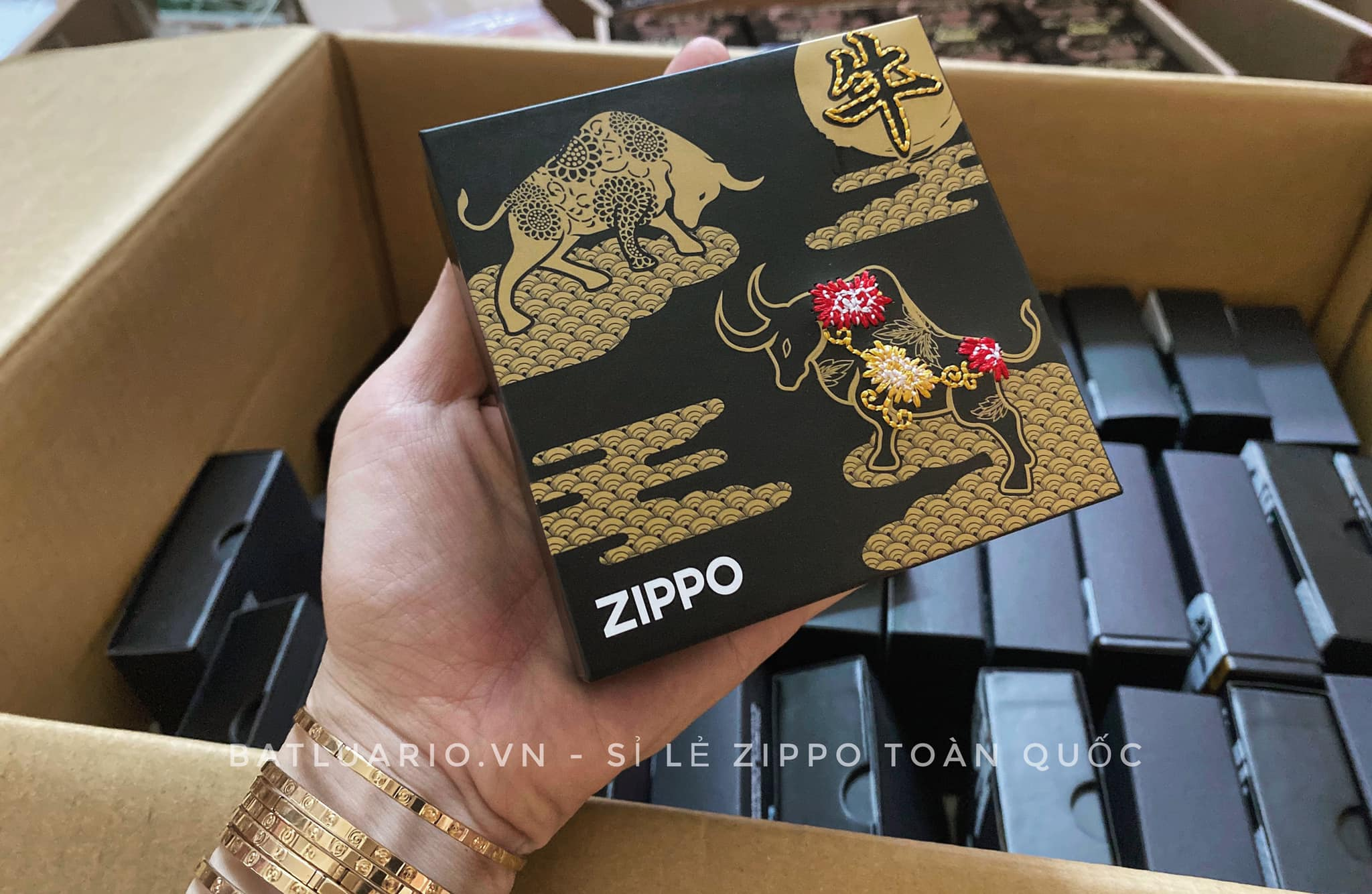 Zippo Year Of The Ox Asia Limited Edition 18