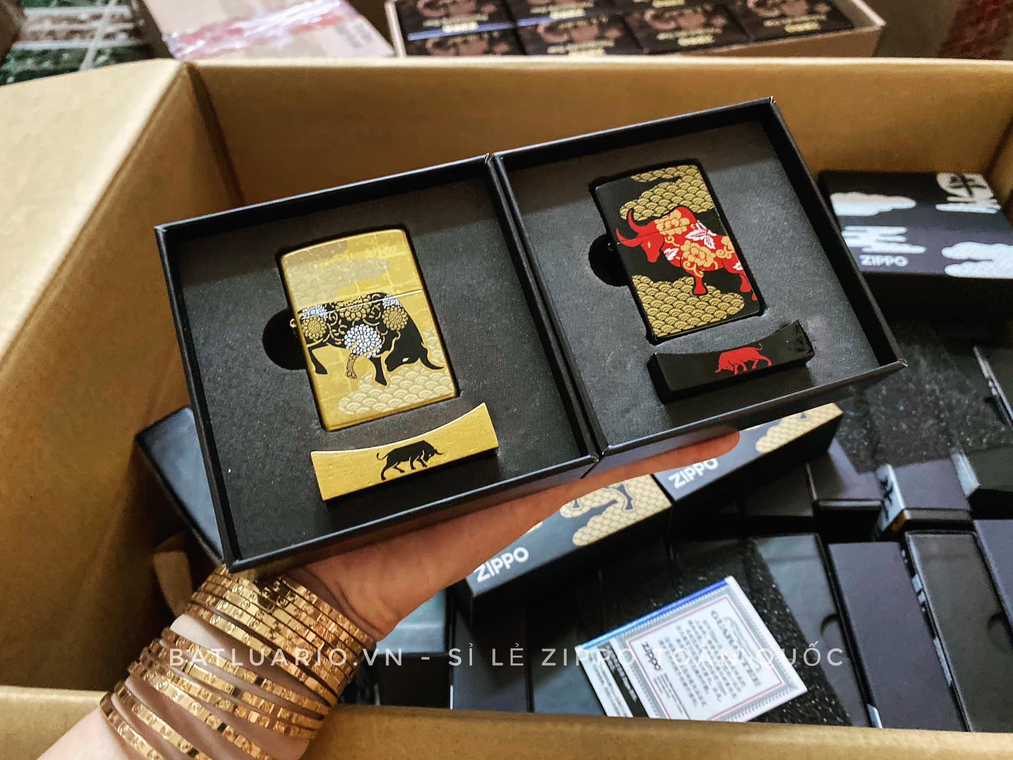 Zippo Year Of The Ox Asia Limited Edition 19