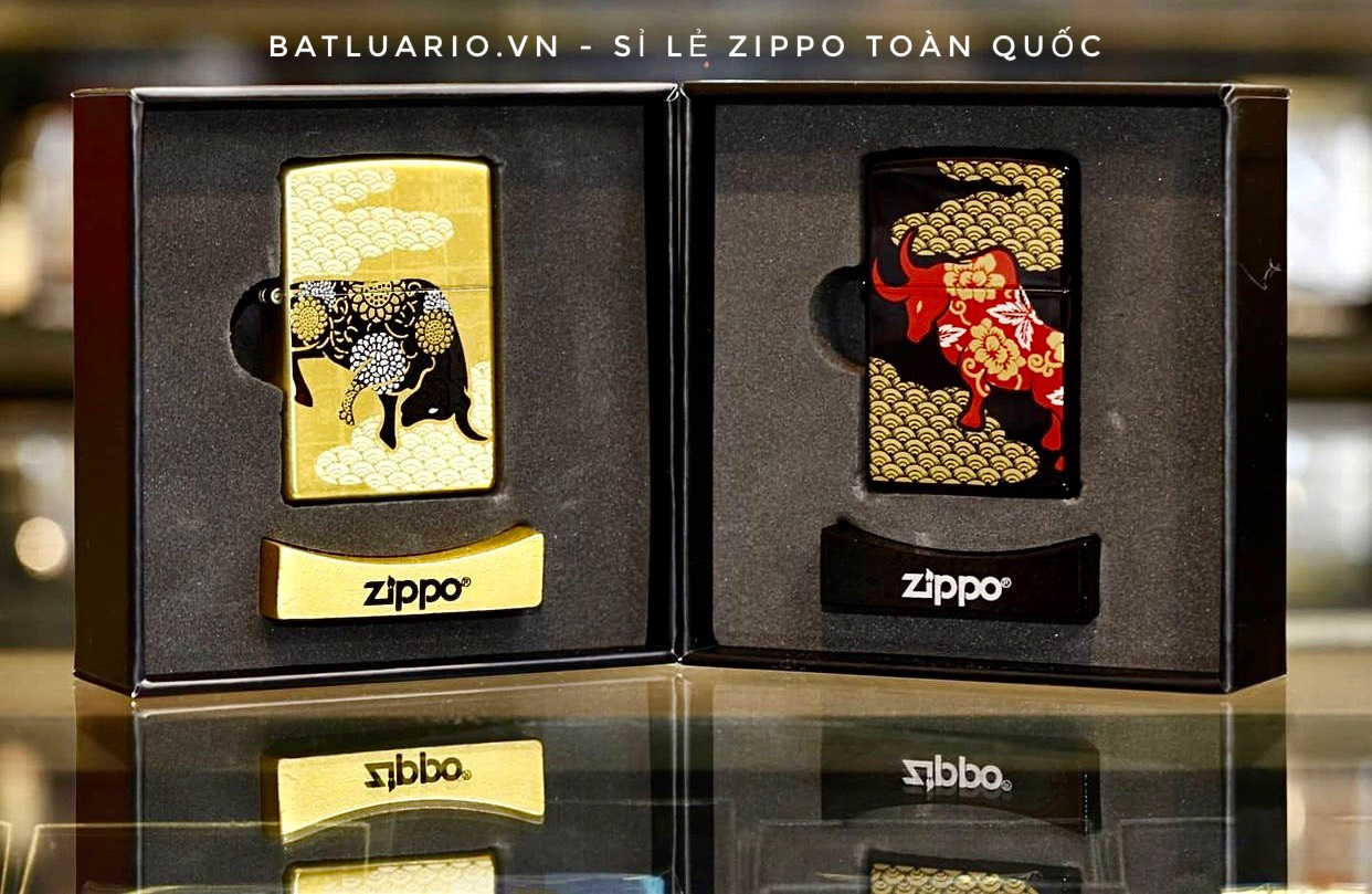 Zippo Year Of The Ox Limited Edition 2