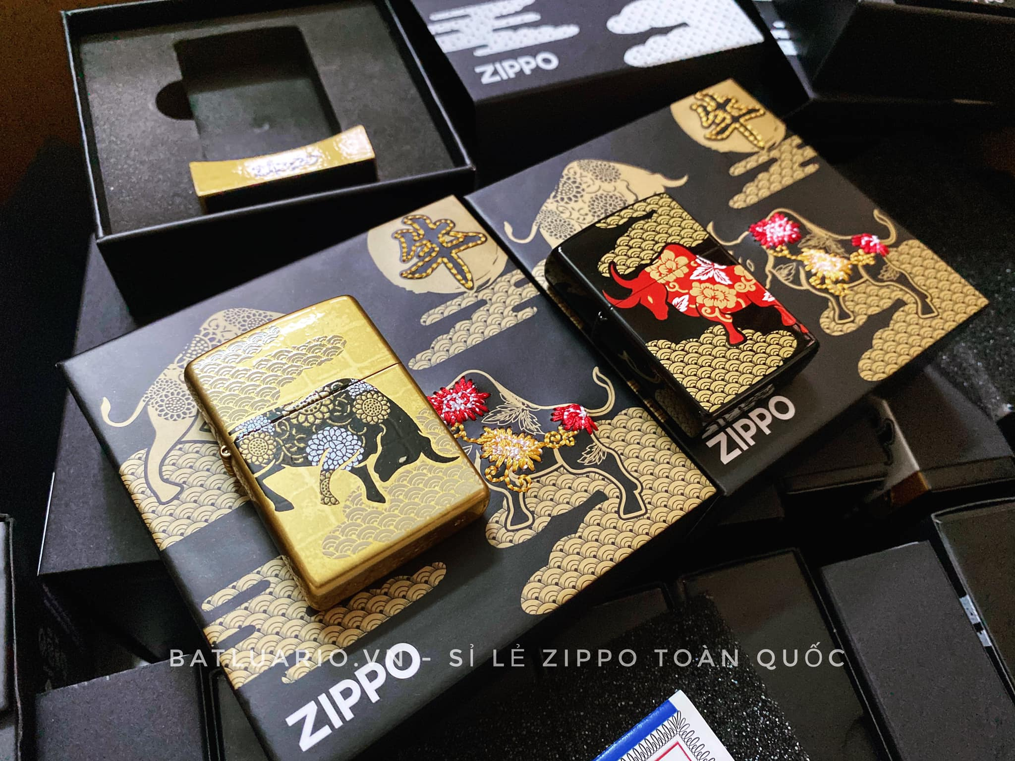 Zippo Year Of The Ox Asia Limited Edition 22