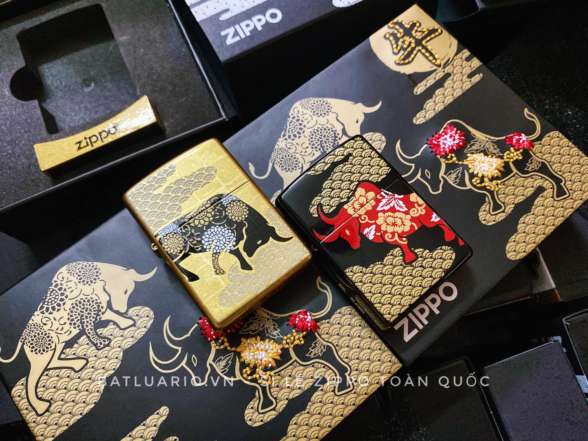 Zippo Year Of The Ox Asia Limited Edition 7
