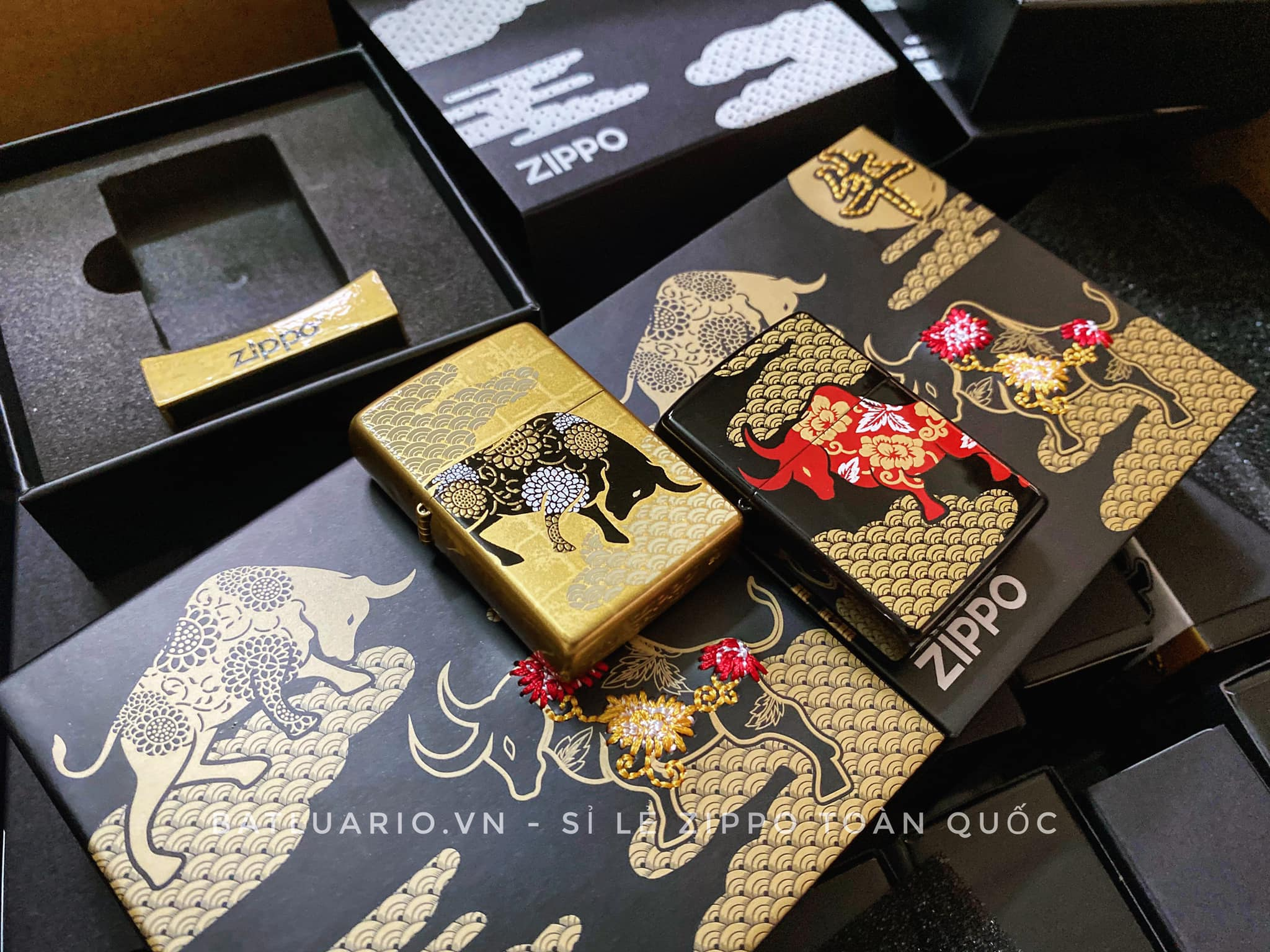 Zippo Year Of The Ox Asia Limited Edition 8