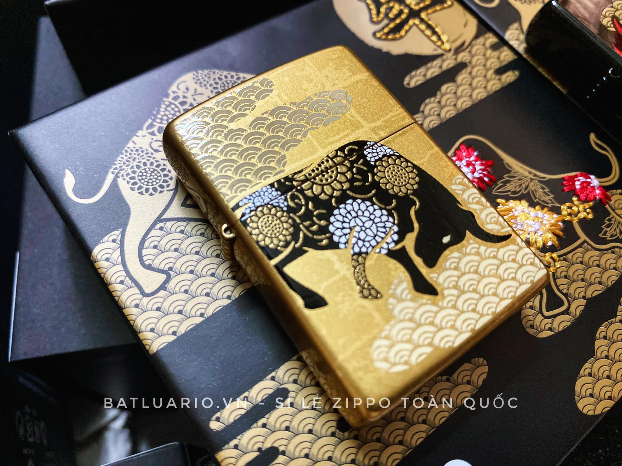 Zippo Year Of The Ox Gold Asia Limited Edition - Zippo CZA-2-18A 11