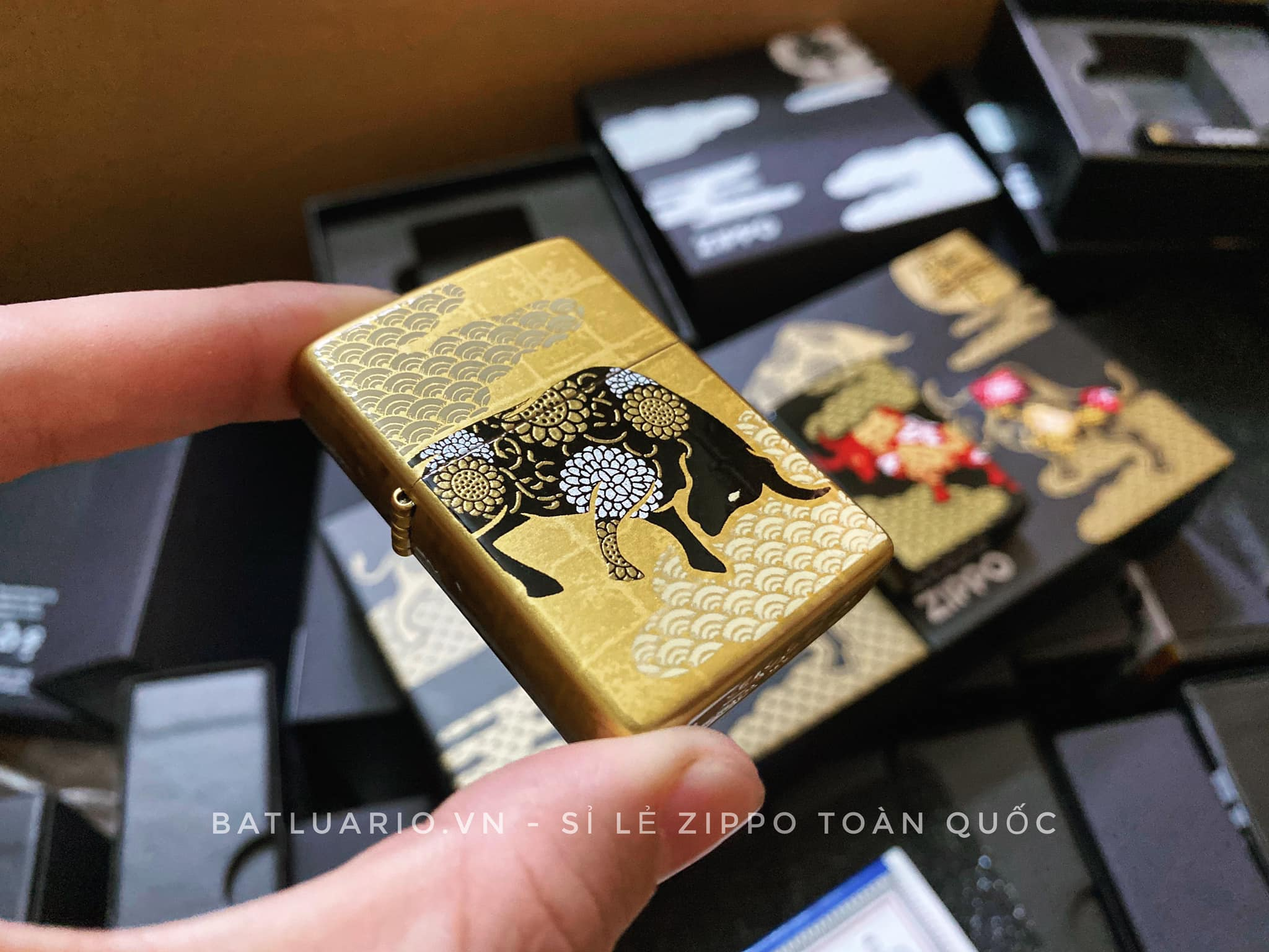 Zippo Year Of The Ox Gold Asia Limited Edition - Zippo CZA-2-18A 6