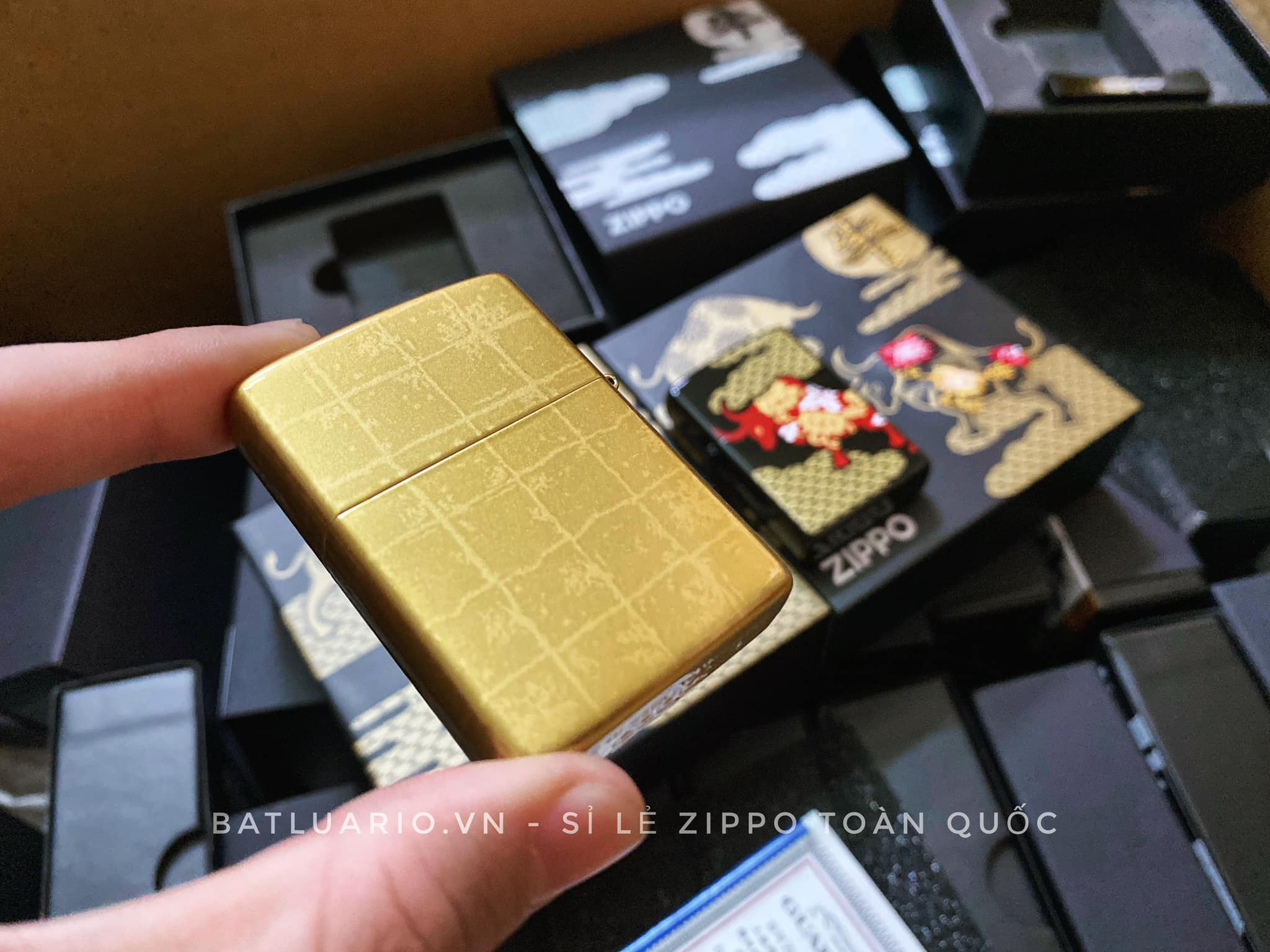 Zippo Year Of The Ox Gold Asia Limited Edition - Zippo CZA-2-18A 8